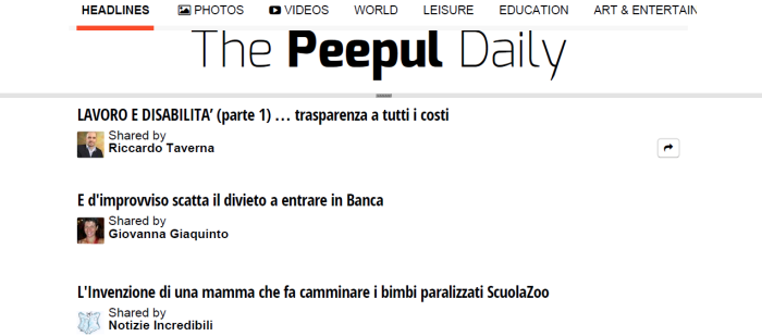 Ricky-Rassegna Stampa-The Peepul Daily